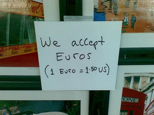 Weltmacht Euro