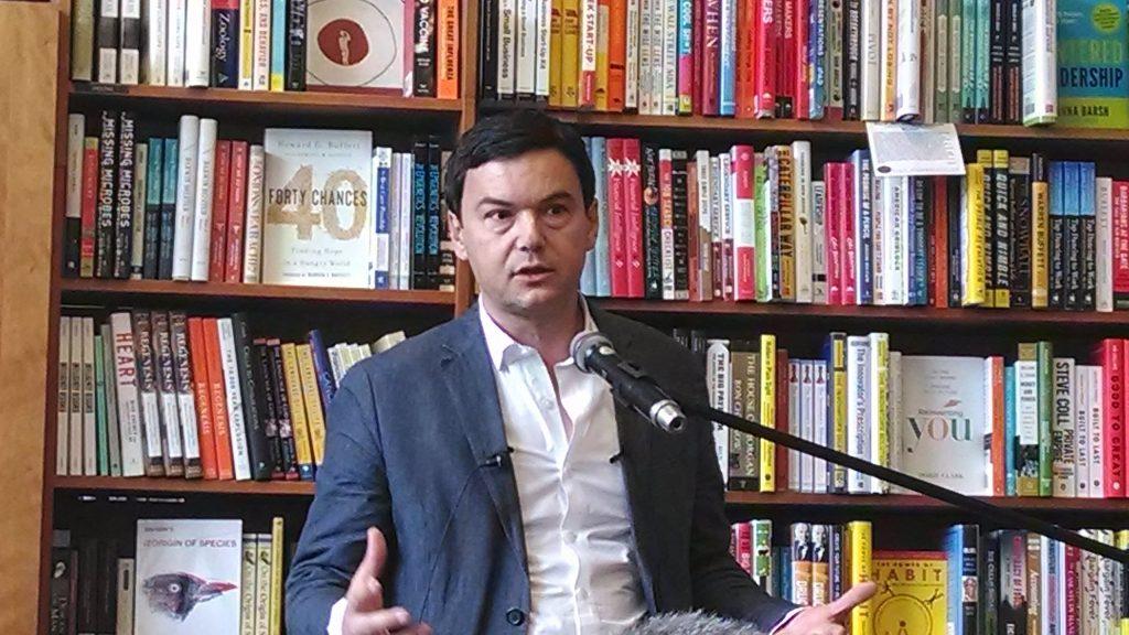 Kein neuer Marx, sondern am Ende och nur ein bürgerlicher Ökonom: Thomas Piketty. Foto: Sue Gardner / Wikimedia, CC BY-SA 3.0